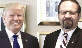 Sebastian Gorka con Trump