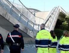 Il crollo del viadotto a Fossano, Cuneo