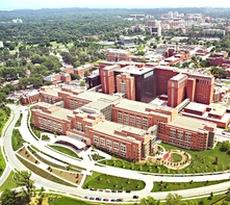 Il quartier generale del Nih, l'istituto nazionale di sanità Usa