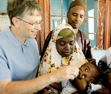 Bill Gates in Africa