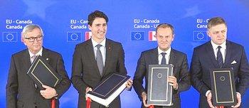 La firma europea per il Ceta