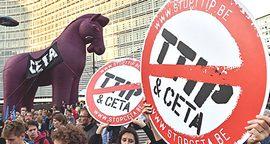 Proteste contro Ttip e Ceta