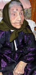 Tzia Maria Manca, sarda, vissuta 110 anni