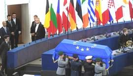 Il funerale di Kohl a Strasburgo