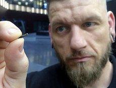 Jowan Osterlund della svedese Biohax