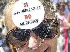 La manifestazione di Pesaro