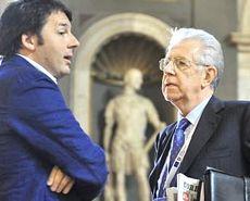 Renzi e Monti
