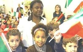 Cécile Kyenge, ius soli
