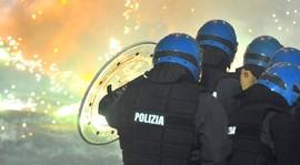 Polizia a Chiomonte