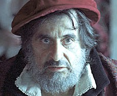 Shylock, interpretato da Al Pacino