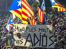Barcellona, indipendentisti in piazza