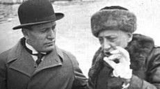 D'Annunzio con Mussolini