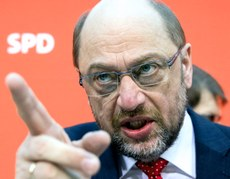 Martin Schulz, grande sconfitto insieme alla Merkel