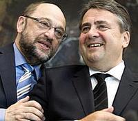 Schulz e Gabriel