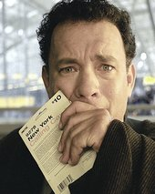 "Tom Hanks nel film ""The Terminal"""