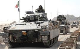 Mezzi corazzati italiani in Afghanistan