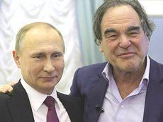 Putin con Oliver Stone