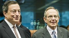 Draghi e Padoan