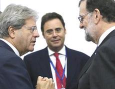 Gentiloni tradito da Rajoy per l'Ema
