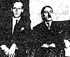 Il presunto Hitler con Philippe Citroen