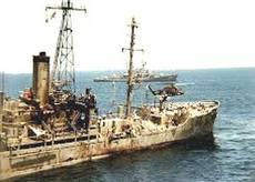La Uss Liberty, colpita da Israele durante la Guerra dei Sei Giorni
