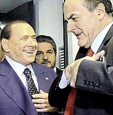 Berlusconi e Bersani