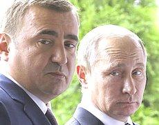 Dyumin con Putin
