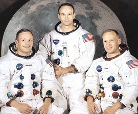 L'equipaggio di Apollo 11