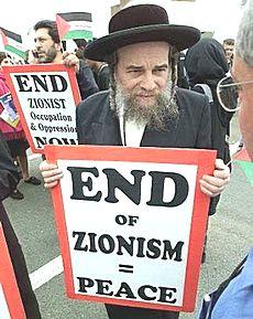 Rabbino anti-sionista