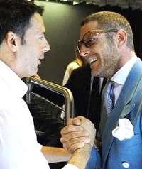 Renzi e Lapo Elkann