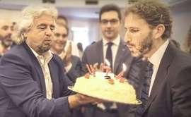 Grillo e Casaleggio jr