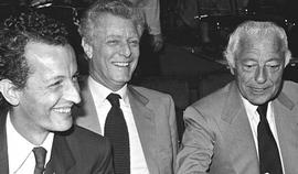 Caracciolo, Agnelli e il figlio Edoardo