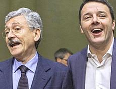 D'Alema e Renzi