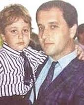 Davide Cervia con il figlio Stefano