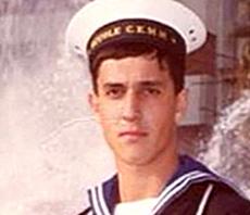 Davide Cervia in uniforme