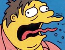 I Simpson, rutto