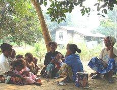 La comunità che parla lo Jedek in Malesia