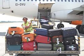 Scarico bagagli