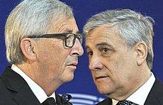 Juncker e Tajani