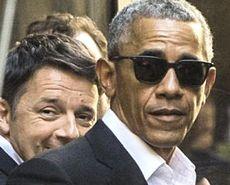 Obama con Renzi