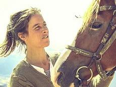 Paola Giacomini con la sua cavalla Isotta