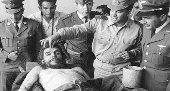 Che Guevara morto