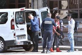 I gendarmi francesi a Bardonecchia