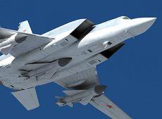 Il bombardiere pesante russo Tupolev Tu-22