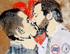 Murales Di Maio-Salvini