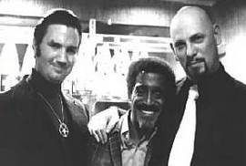 Sammy Davis tra Michael Aquino e Anton LaVey
