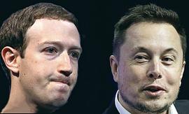 Zuckerberg e Musk