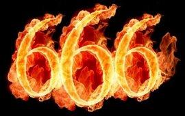 numero 666, la Bestia dell'Apocalisse