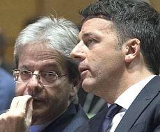Gentiloni e Renzi
