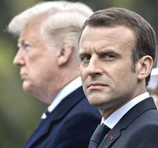 Macron e Trump